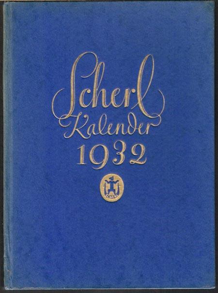 Scherl Kalender 1932.