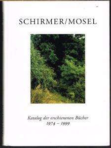 Katalog der erschienenen Bücher 1974 - 1999.