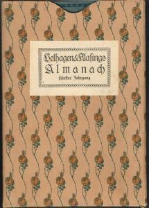 Almanach. Herausgegeben von der Redaktion von Velhagen und Klasings Monatsheften. Fünfter Jahrgang.