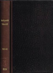 Antiquarisk Tidsskrift, udgivet af det Kongelige Nordiske Oldskrift-Selskab. 1861-1863.