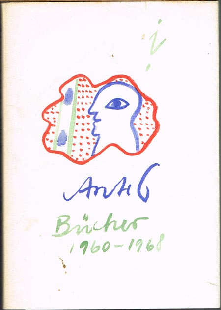 Antes. Verzeichnis der Bücher von Horst Antes.
