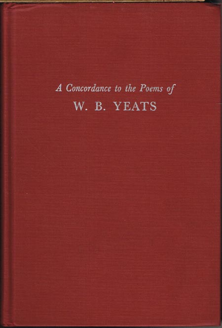 A Concordance to the Poems of W. B. Yeats. Edited by Stephen Maxfield Painter. Programmed by James Allan Painter.