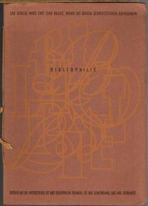 Moriz Sondheim: Bibliophilie. Rede gehalten bei der Jahresversammlung der Gesellschaft der Bibliophilen am 11. September 1932 zu Frankfurt am Main.