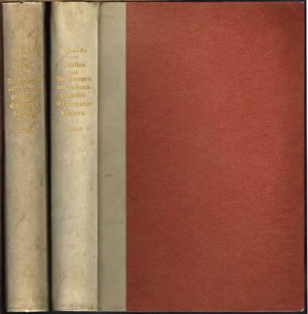 Gustav Könnecke: Quellen und Forschungen zur Lebensgeschichte Grimmelshausens. Herausgegeben im Auftrag der Gesellschaft der Bibliophilen von J. H. Scholte. 2 Bände.