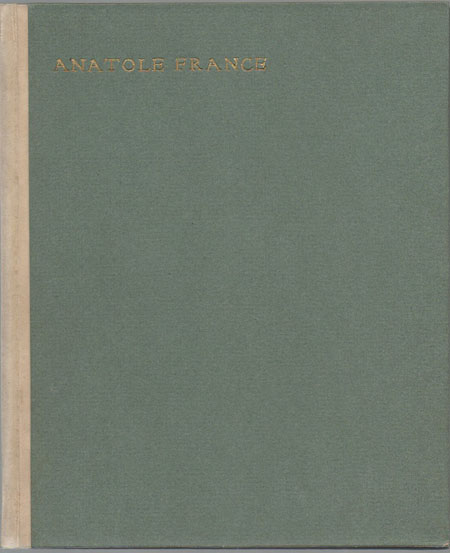Theodor Wolff: Anatole France.