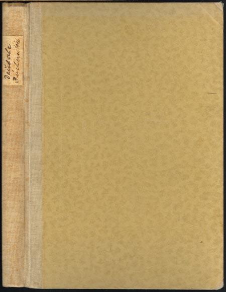 Denkschrift zu Einweihungsfeier der Deutschen Bücherei des Börsenvereins der Deutschen Buchhändler zu Leipzig am 2. September 1916. Mit 7 Abbildungen und 16 Tafeln.