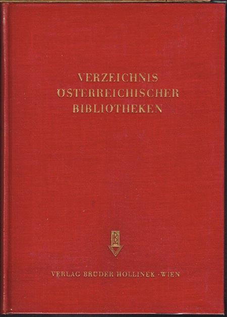 Verzeichnis Österreichischer Bibliotheken.