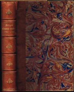 Ludwig Geiger: Therese Huber. 1764 bis 1829. Leben und Briefe einer deutschen Frau. Nebst einem Bildnis von Therese Huber.
