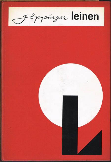 göppinger Leinen. bedruckt - geprägt. 2. Folge. [Musterbuch]