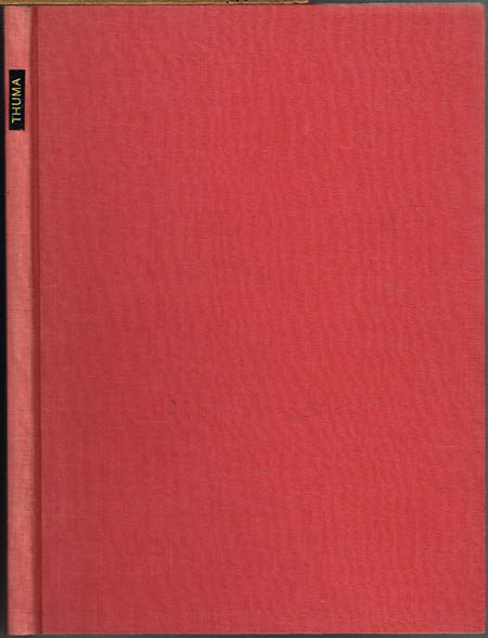M. Thuma: Die Werkstoffe des Buchbinders. Ihre Herstellung und Verarbeitung. Vierte Auflage. Neubearbeitet von Gustav Moeßner.