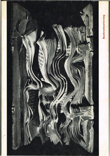 Buchrestaurierung. Methoden und Ergebnisse. Ausstellungskatalog.