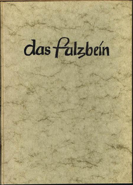 Das Falzbein. Monatsschrift für den Nachwuchs im Buchbindereigewerbe. 6. Jahrgang April bis Juli 1953 und November 1953 bis März 1954.