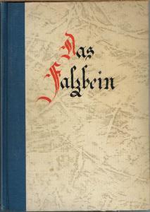 Das Falzbein. Monatsschrift für den Nachwuchs im Buchbindereigewerbe. 1. Jahrgang April 1948 bis März 1949.