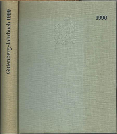 Gutenberg-Jahrbuch 1990. 65. Jahrgang.