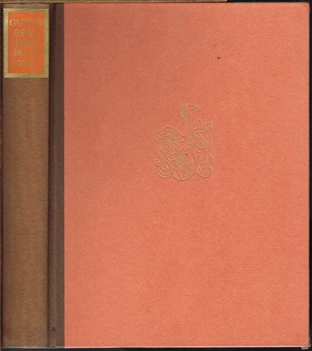 Gutenberg-Jahrbuch 1980. 55. Jahrgang. Begründet von Aloys Ruppel. Herausgegeben von der Gutenberg-Gesellschaft. Für die Herausgabe verantwortlich Hans-Joachim Koppitz.