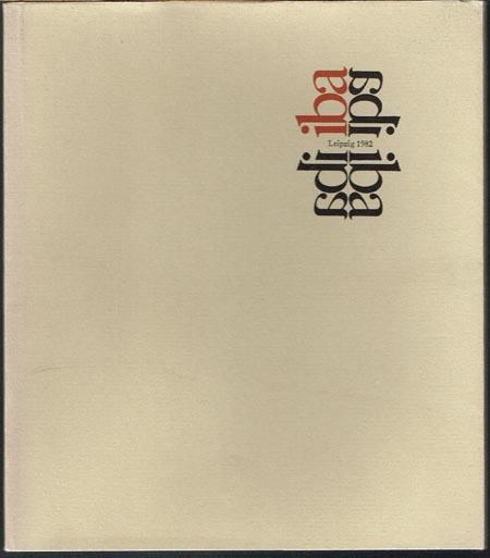 Summaries - Sommaires - PE3IOMÉ - Somarios. - Beilage zum Hauptkatalog der Internationalen Buchkunst-Ausstellung Leipzig 1982.