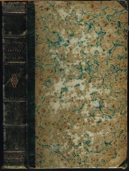 Sexti Aurelii Victoris Historia Romana. Sext. Aurelius Victor's Römische Geschichte, übersetzt von Hildebrand.