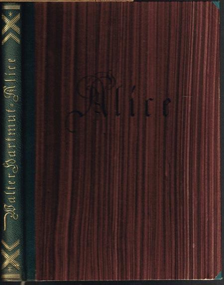 Walter Hartmut: Alice und andere Novellen. Mit Illustrationen von Max Slevogt.