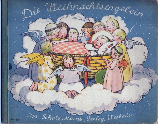 Die Weihnachtsengelein. Mit farbigen und schwarzweißen Bildern von Else Wenz-Vietor.