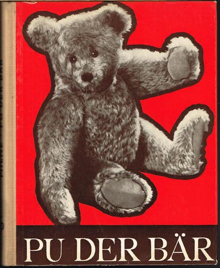 A[lan] A[lexander] Milne: Pu der Bär. Berechtigte Übertragung aus dem Englischen von E.L.Schiffer. Illustriert von E.H.Shepard.