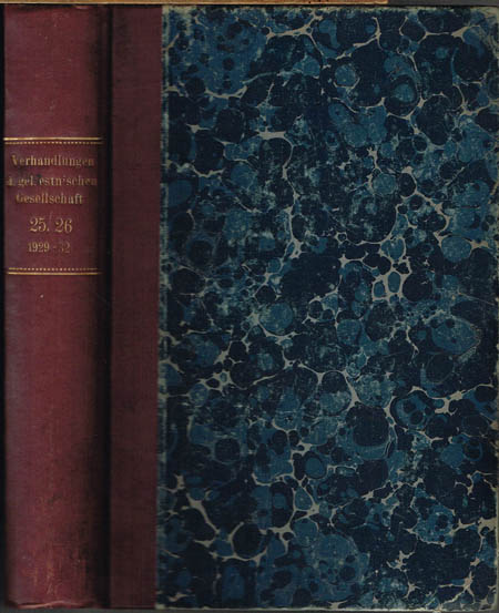H. Moora: Die Eisenzeit in Lettland bis etwa 500 n. Chr. I. Teil: Die Funde. II. Teil: Tafeln zum I. Teil.