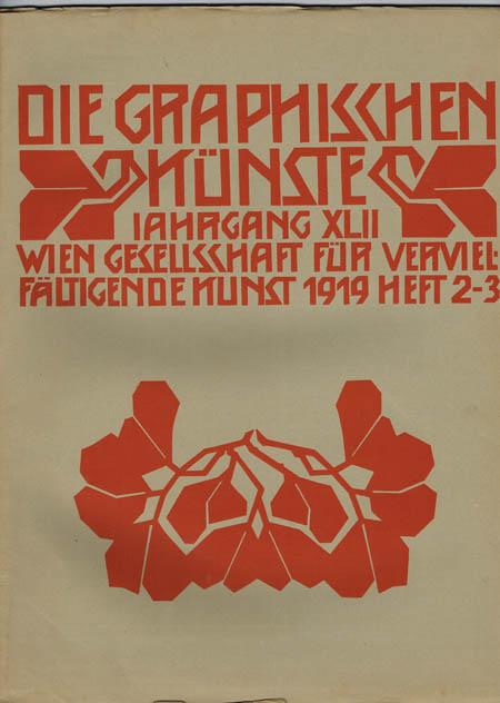 Die Graphischen Künste. Jahrgang XLII, 1919, Heft 2-3.