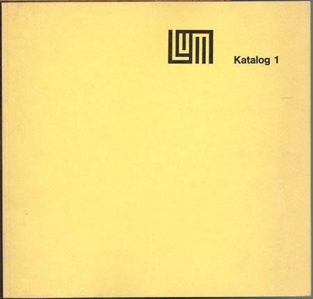 Galerie Lutz & Meyer. Katalog 1.