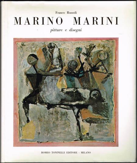 Franco Russoli: Marino Marini. Pitture e disegni.