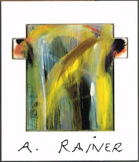 Thorsten Rodiek / Heribert Schulz: Arnulf Rainer. [Ausstellung] Kunsthalle Dominikanerkirche Osnabrück / Hessisches Landesmuseum 1993.