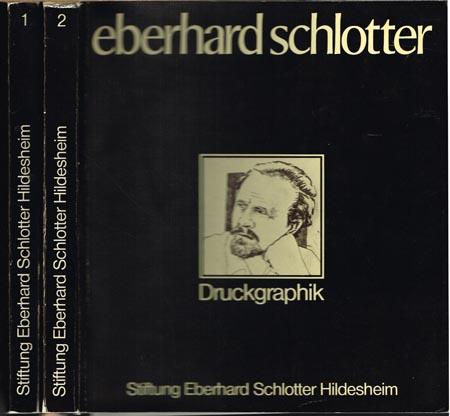 Eberhard Schlotter. Oelbilder - Aquarelle - Zeichnungen. Druckgraphik. 2 Bände.