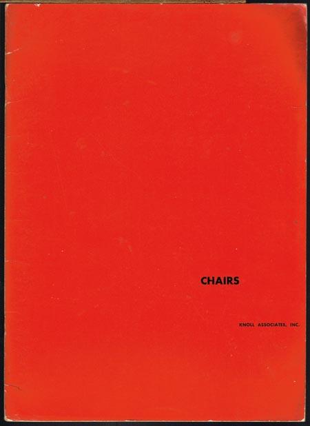 Chairs. Knoll Associates, Inc.