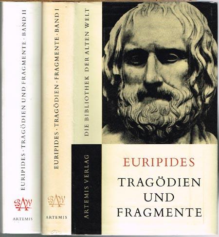 Walter Rüegg (Hrsg.): Euripides. Die Tragödien und Fragmente. Band I und Band II. Bearbeitet und eingeleitet von Franz Stoessl.