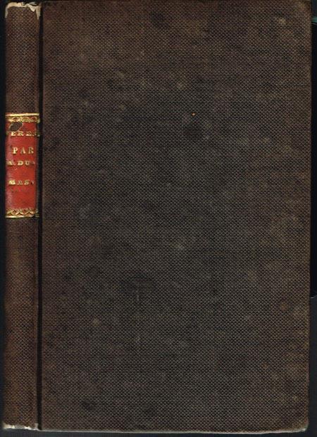 Alex. Dumas [Pere; der Ältere]: Teresa, drame. En cinq Actes et en Prose.