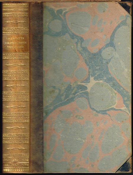 Marie Madeleine Gräfin von La Fayette: Die Prinzessin von Cleve. Ins Deutsche übertragen und herausgegeben [sowie mit Nachwort] von Paul Hansmann.