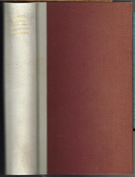 Marcel Proust: Sodom und Gomorra. Deutsch von Eva Rechel-Mertens.