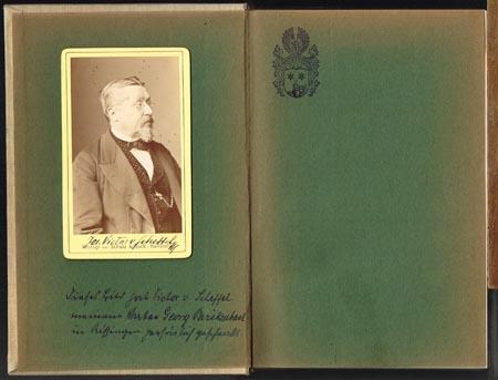J. V. von Scheffel. Gesammelte Dichtungen. Mit Illustrationen von A. von Werner.