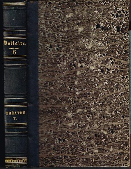 Oeuvres complètes de Voltaire. Théatre Tome V.