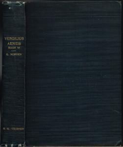 P. Vergilius Maro Aeneis Buch VI. Erklärt von Eduard Norden.
