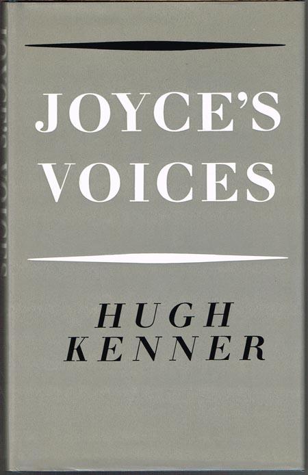Hugh Kenner: Joyce's Voices.