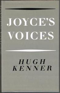Hugh Kenner: Joyce's Voices.