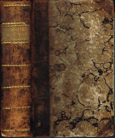 Joseph Martin Will: Vermischte Gedichte. 2 Bände in 1.