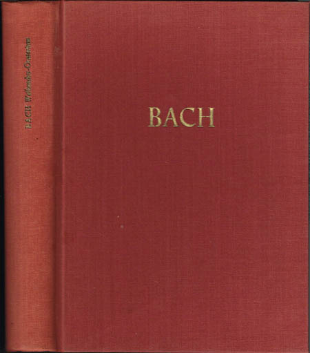 Johann Sebastian Bach. Weihnachts-Oratorium. BWV 248. Herausgegeben von Walter Blankenburg und Alfred Dürr.