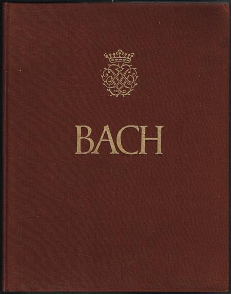 Johann Sebastian Bach. Die Klavierbüchlein für Anna Magdalena Bach (1722 und 1725). Herausgegeben von Georg von Dadelsen.