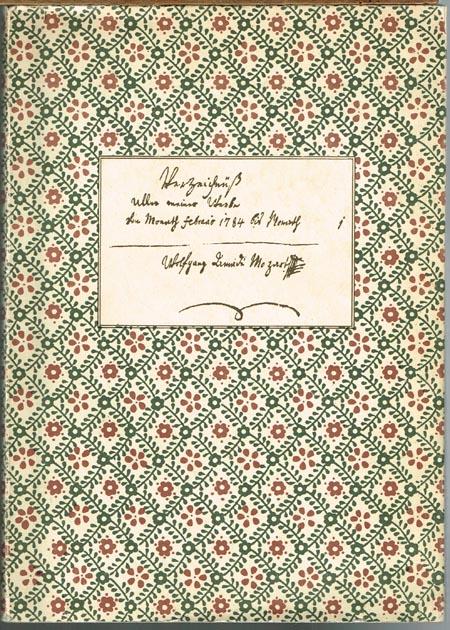 Wolfgang Amadeus Mozart: Verzeichnis aller meiner Werke und Leopold Mozart: Verzeichnis der Jugendwerke W.A. Mozarts. Herausgegeben von E. H. Müller von Asow.
