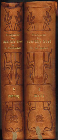 Max Friedlaender: Das deutsche Lied im 18. Jahrhundert. Quellen und Studien. 3 Teile in 2 Bänden.