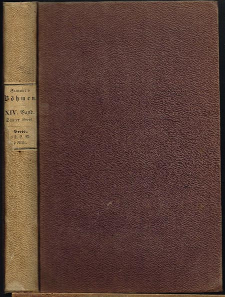 Johann Gottfried Sommer: Böhmen. Dreizehnter Band. Rakonitzer Kreis.