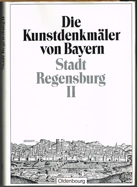Felix Mader (Bearb.): Die Kunstdenkmäler der Oberpfalz. XXII: Stadt Regensburg [Band] II: Die Kirchen der Stadt. Mit 30 Tafeln und 261 Abbildungen im Text.