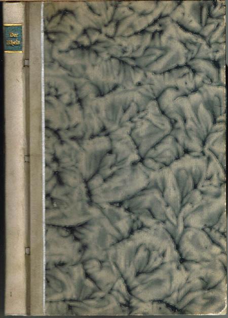Der Rhein und die Rheinlande dargestellt in malerischen Original-Ansichten von Ludwig Lange und in Stahl gestochen von Johann Poppel, im Vereine mit Deutschlands bekanntesten Stahlstechern. Von einem historisch-topographischen Text begleitet.