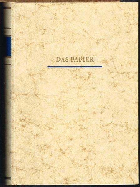 Karl Keim: Das Papier. Seine Herstellung und Verwendung als Werkstoff des Druckers und Papierverarbeiters. Ein Lehr- und Handbuch für die papiererzeugende Industrie und das graphische und papierverarbeitende Gewerbe.
