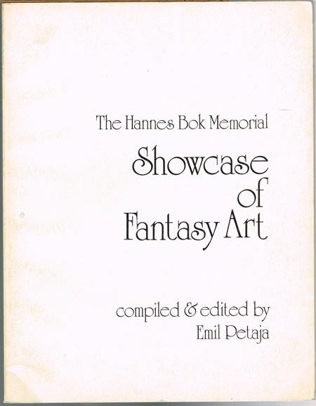 Emil Petaja (Hrsg.): The Hannes Book Memorial Showcase of Fantasy Art.